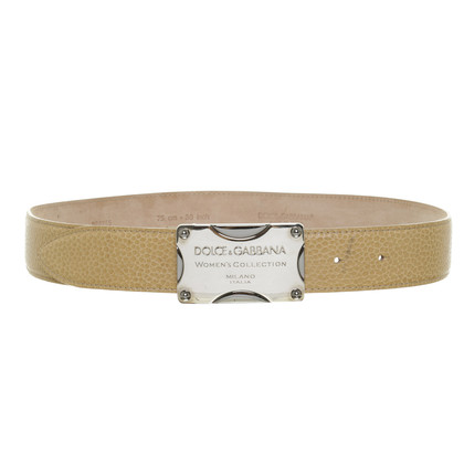 Dolce & Gabbana Cintura con fibbia logo
