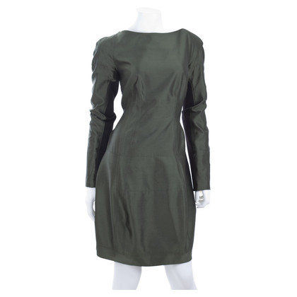 Proenza Schouler Silk dress in dark green