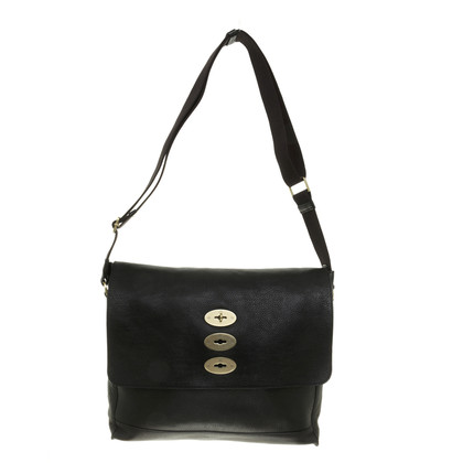 Mulberry Large Messenger in black