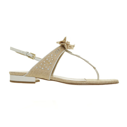 Valentino Sandals in raffia look