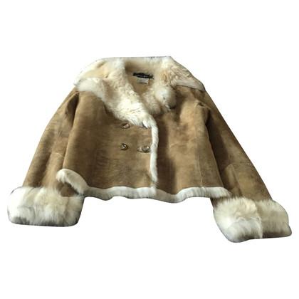 Marc Cain Lambskin leather jacket