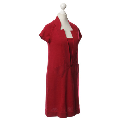 Hoss Intropia Strickkleid in Rot