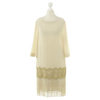 Hoss Intropia Dress with fringes