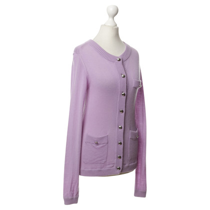 Marc by Marc Jacobs Strickjacke in Violett