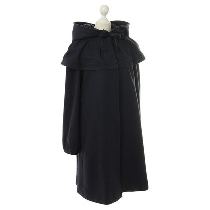 Philosophy di Alberta Ferretti Coat in donkerblauw
