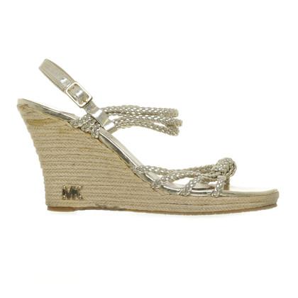 Michael Kors Wedge sandal in gold