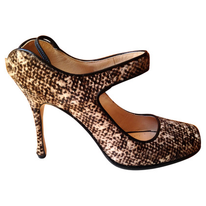 Manolo Blahnik High Heels Peep toes