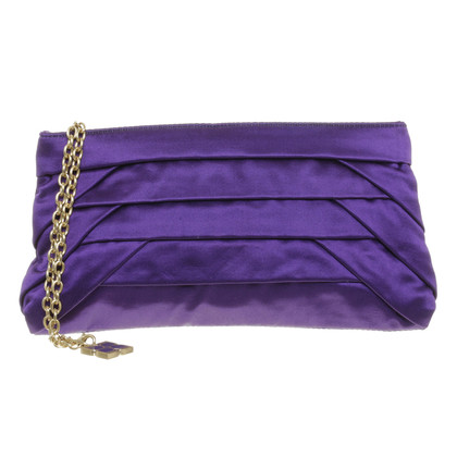 BCBG Max Azria clutch purple