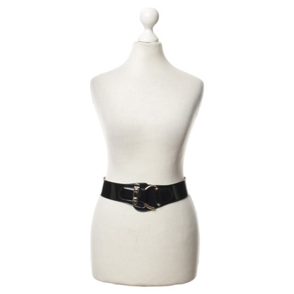Gucci Waist belt in black with elastic strap