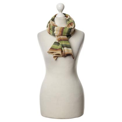 FTC Striped cashmere scarf