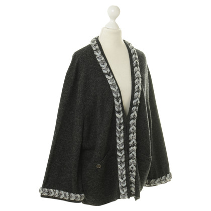 Chanel Cardigan con motivi ornamentali
