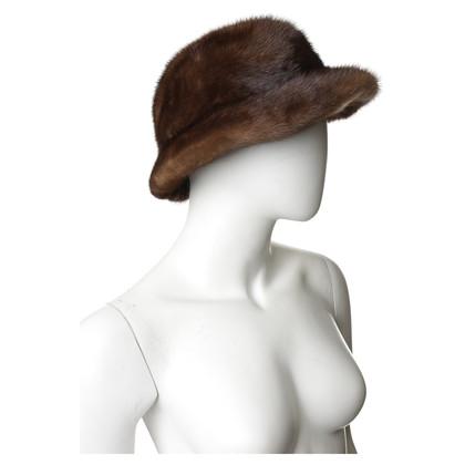Andere Marke Hut mit Nerzpelz