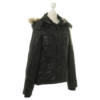 Bloom Jacket with fur trim