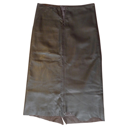 DKNY Leather skirt