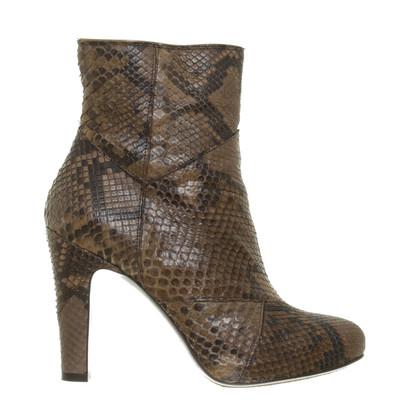 L'autre Chose Ankle boots made of reptile leather
