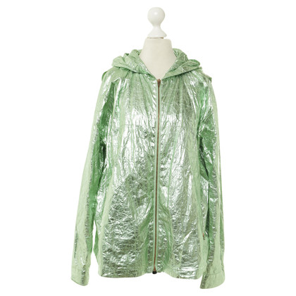 Alexander Wang Jacket in green metallic