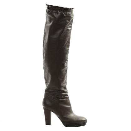 Hogan Overknee-boots with heels