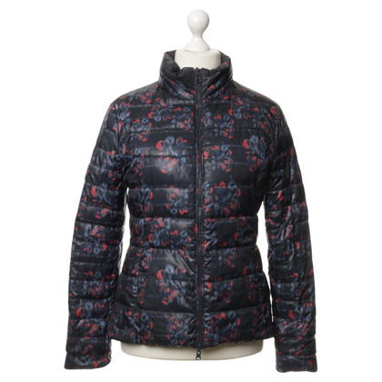 Armani Jeans Quilted Jacket in dark blue