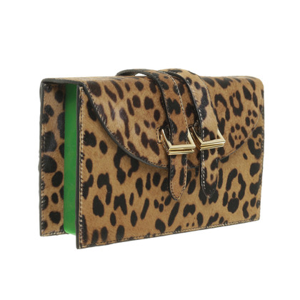 Andere Marke  Meli Melo - Prep Spex Clutch Faded Cheetah Green