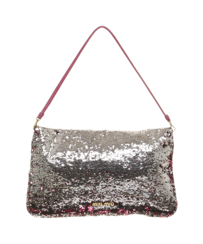 Exceptionnel Miu Miu Sequin bag in pink - Buy Second hand Miu Miu Sequin bag in  YE26