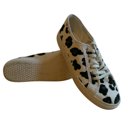 Kurt Geiger Canvas sneakers with animal print