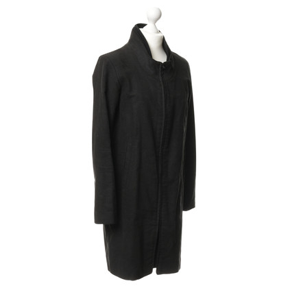 Helmut Lang Cotton coat in black