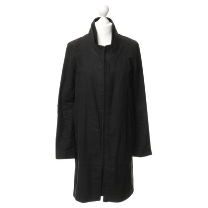 Helmut Lang Cappotto in cotone nero