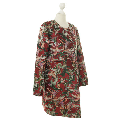 Pinko Coat with Hummingbird print