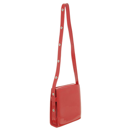 Casadei Red patent leather handbag
