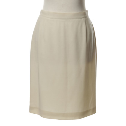 Emanuel Ungaro skirt in cream