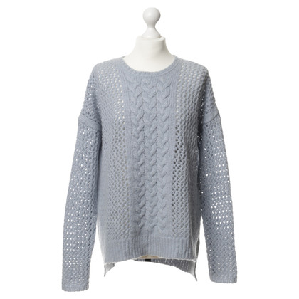 Lala Berlin Knitted sweater in light blue