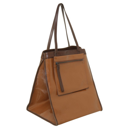 Marni for H&M Schultertasche in Cognac