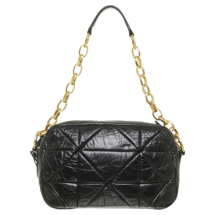Marc Jacobs Black leather bag with chain strap