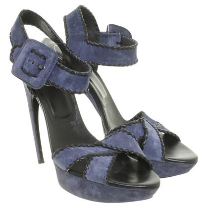 Roger Vivier Plateau sandalen blauw