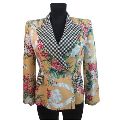 Moschino Cheap and Chic Blazer im Mustermix