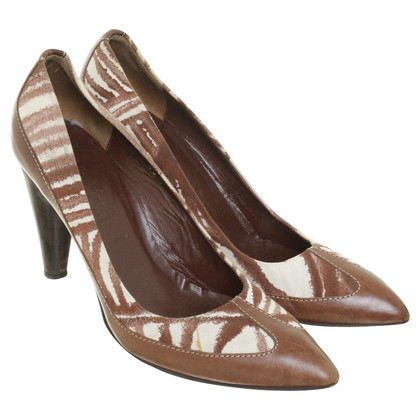 Max Mara Pumps with textile insert