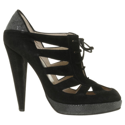 Chrissie Morris Cut-Out Pumps aus Wildleder