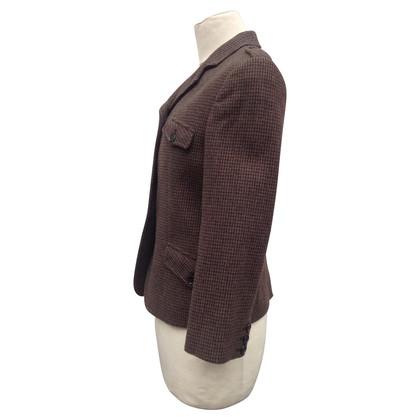 Miu Miu Blazer corto in lana