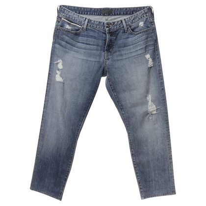 Andere Marke Koral - Jeans mit Used-Effekt