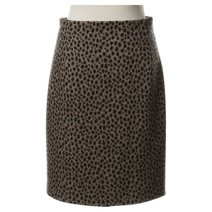 Akris Wool skirt in the animal look