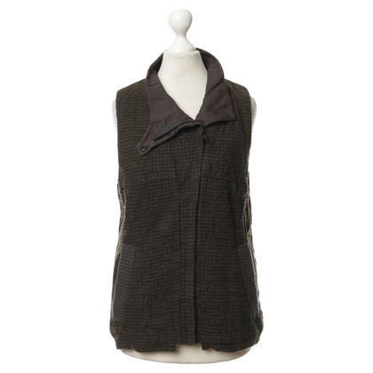 Other Designer Liebeskind - vest with stylized Houndstooth
