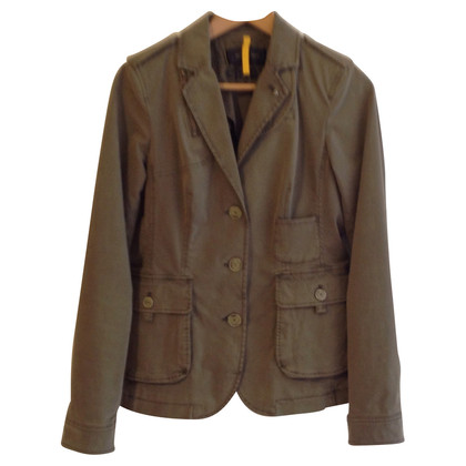 Blonde No8 Blazer in military green