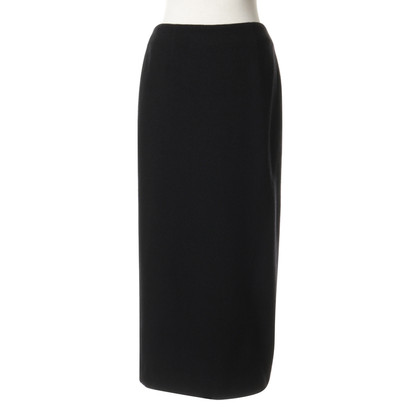 Donna Karan skirt in black