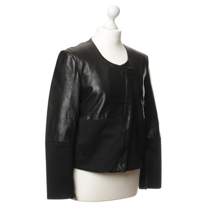 Helmut Lang Jacket made of leather and textile