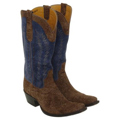 Other Designer Stallion - suede cowboy boots