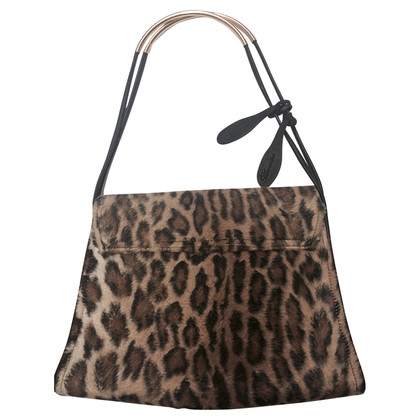 Blumarine Leo pattern shoulder bag