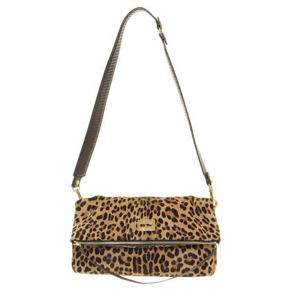 Céline Handbag made of Pony fur in Leopard look