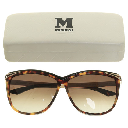 Missoni Sonnenbrille im Cat-Eye Design