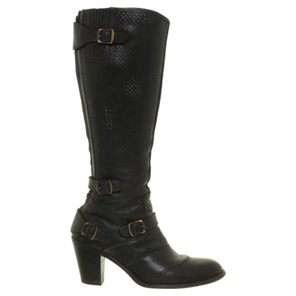 Belstaff Boots with fashionable holes