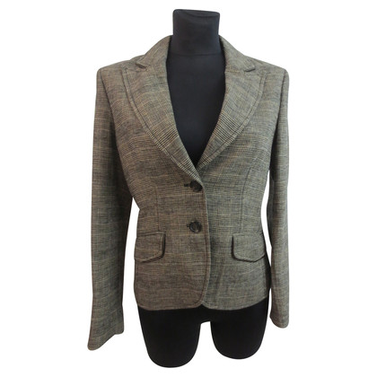 JOOP! Linen Blazer in the Prince of Wales check